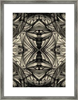 Framed Print featuring the drawing Didgitized Ballpoint 1 26 11 by Jack Dillhunt