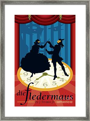 Die Fledermaus Framed Print