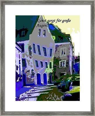 Die Kleine Strasse Framed Print