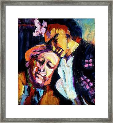Diego And Frida Framed Print