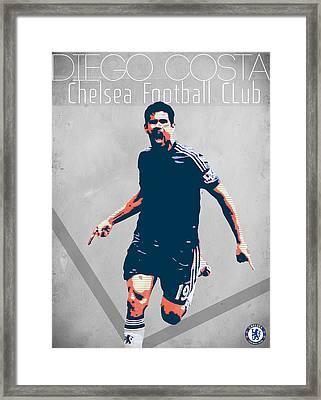 Diego Costa Framed Print