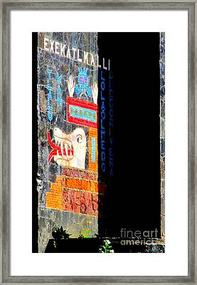 Diego Rivera Mural 1 Framed Print