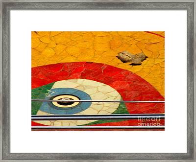 Diego Rivera Mural 11 Framed Print