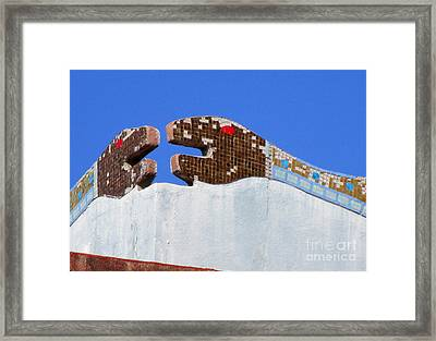 Diego Rivera Mural 12 Framed Print
