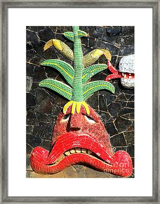 Diego Rivera Mural 5 Framed Print