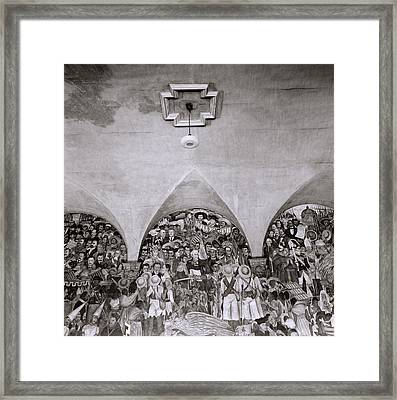 Diego Rivera Framed Print