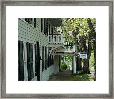 Dielman Inn Framed Print
