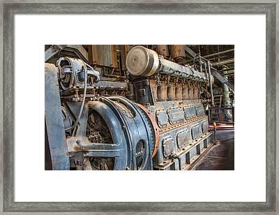 Diesel Power Framed Print by Leland D Howard