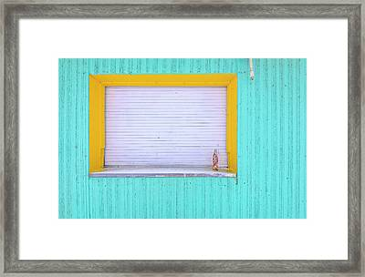 Framed Print featuring the photograph Diet Coke by John Poon