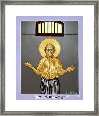 Dietrich Bonhoeffer - Lwdib Framed Print