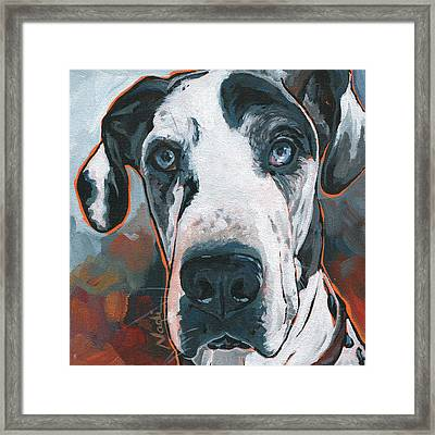Diezel Framed Print by Nadi Spencer