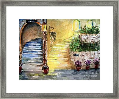Differences Framed Print by Carol Grimes
