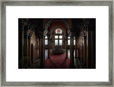 Different Class Is First Framed Print