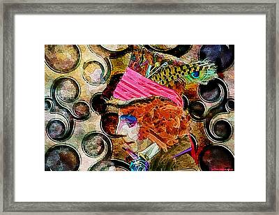 Different Drum Framed Print by Ellen Cannon