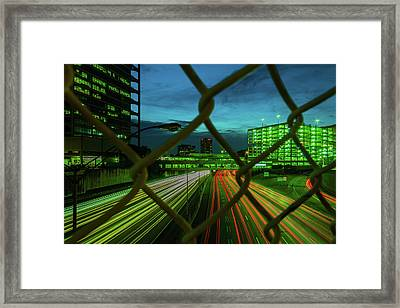 Different Is Ok Framed Print