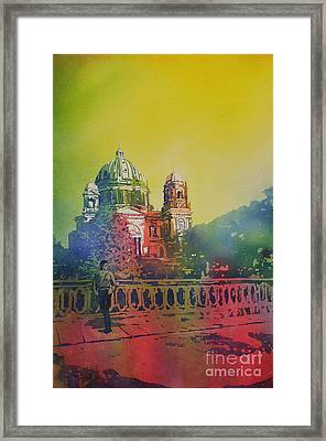Different Look On The Berlin Cathedral Framed Print by Ryan Fox