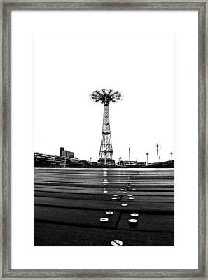 Different Mentality Framed Print