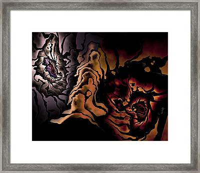 Different Points Of View Framed Print