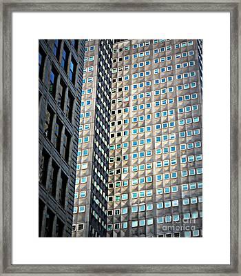 Different Views Framed Print