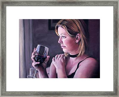 Difficult Day Framed Print