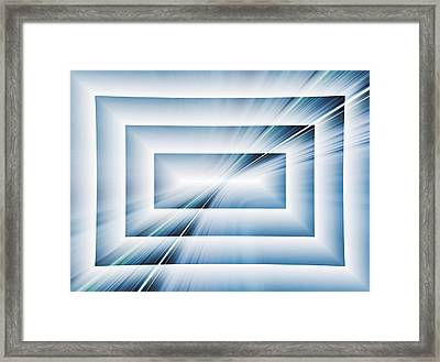 Diffraction Framed Print