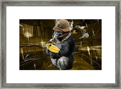 Dig The Gold Framed Print