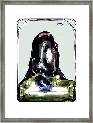 Digital Abstract Expression #006 Framed Print
