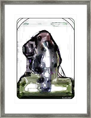 Digital Abstract Expression #007 Framed Print