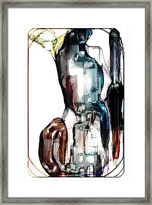 Digital Abstract Expression #013 Framed Print