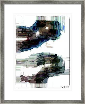 Digital Abstract Expression #016 Framed Print