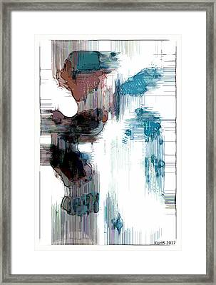Digital Abstract Expression #017 Framed Print