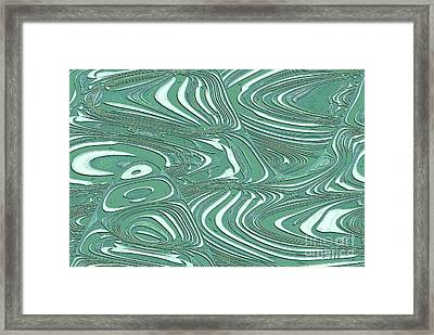 Framed Print featuring the photograph Digital Abstract by Marsha Heiken