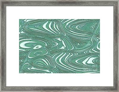 Digital Abstract Framed Print by Marsha Heiken