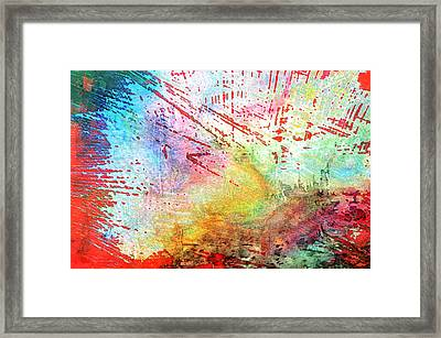 Digital Abstract Framed Print by Tom Gowanlock