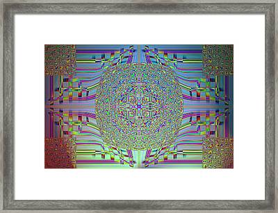 Digital Age Framed Print by Guillermo Mason