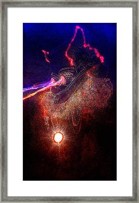 Digital Art C20p Framed Print by Otri Park