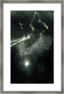 Digital Art C30b Framed Print by Otri Park