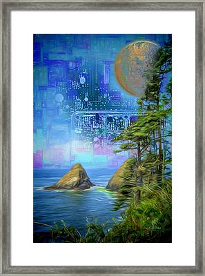 Digital Dream Framed Print