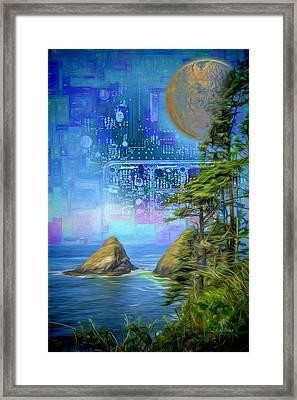 Digital Dream Framed Print