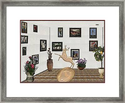 Digital Exhibition 19 Framed Print