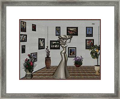 Digital Exhibition 26 Framed Print