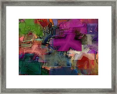 Digital Fun No.1 Framed Print