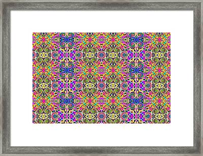 Digital Future Framed Print by Guillermo Mason
