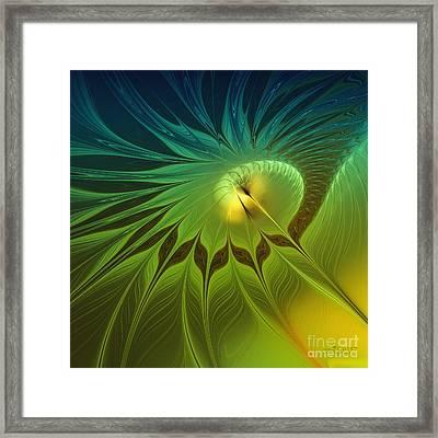 Digital Nature Framed Print