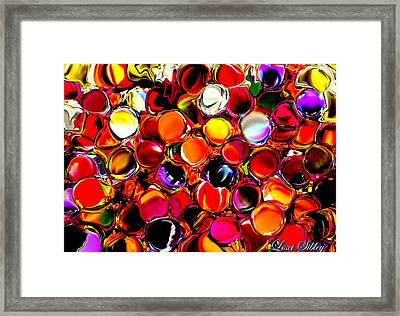 Framed Print featuring the digital art Digital2012b by Loxi Sibley