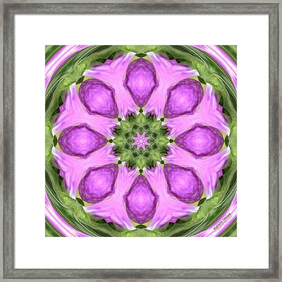 Digitalis 1563k8 Framed Print by Brian Gryphon
