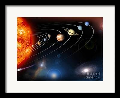 Inner Space Framed Prints