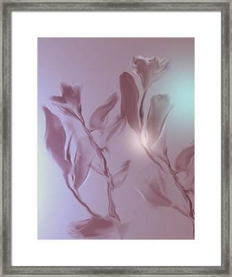 Digitized 2 Framed Print by John Krakora
