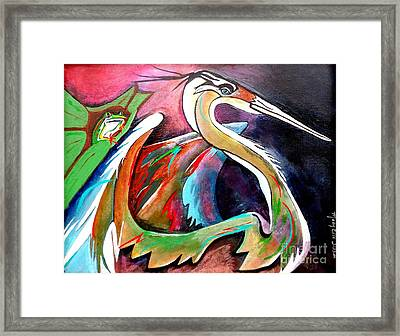 Dignified Framed Print by Mary Sisson