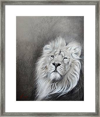 Framed Print featuring the drawing Dignity by Elena Kolotusha